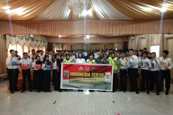 Ditlantas Polda gandeng mahasiswa jadi agen Gerakan Indonesia Tertib