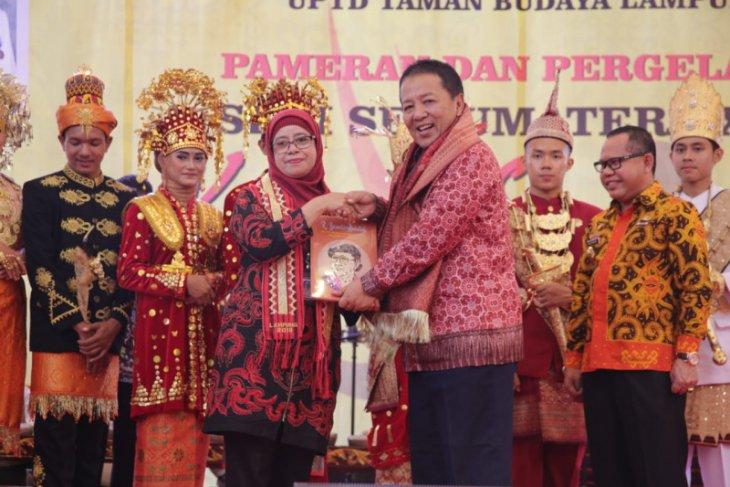 Ada pameran seni se-Sumatera di Lampung, Jambi ikut serta