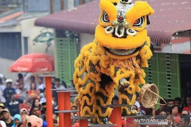 Barongsai Aceh bertanding dalam turnamen internasional di  Tiongkok
