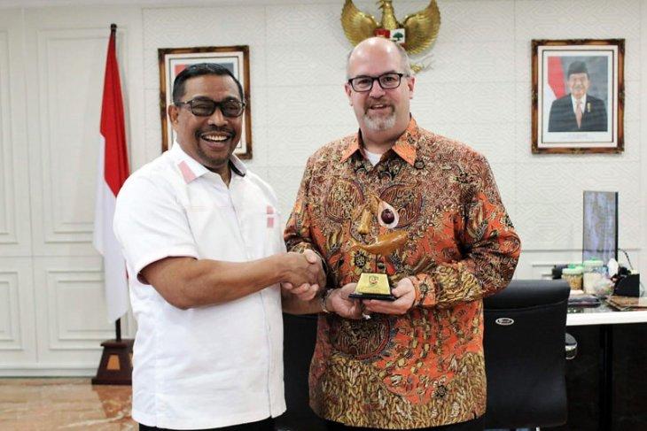 Konjen AS kunjungi  Gubernur Maluku bahas peluang investasi