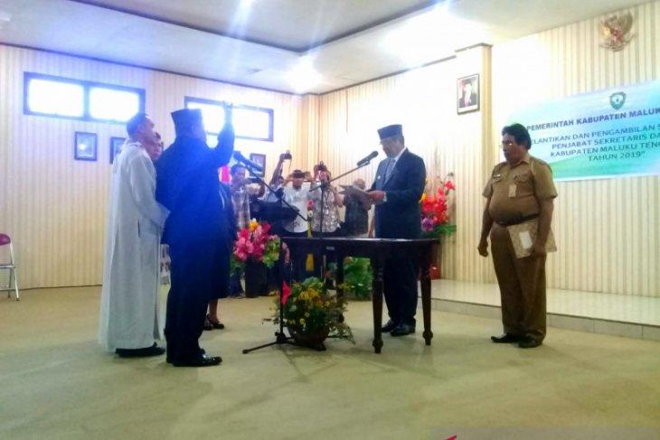 Bupati Maluku Tenggara lantik Penjabat Sekda