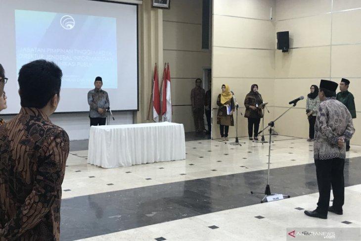 Menkominfo lantik Widodo Muktiyo sebagai Dirjen IKP Gantikan Niken