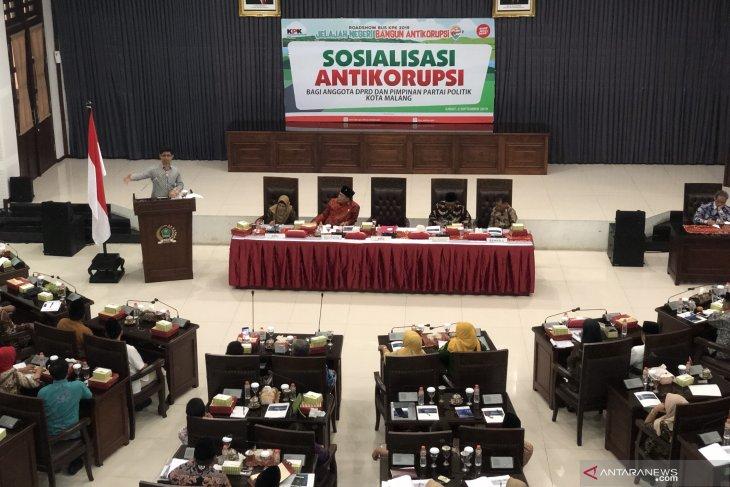 Anggota DPRD Kota Malang dapat pembekalan antikorupsi