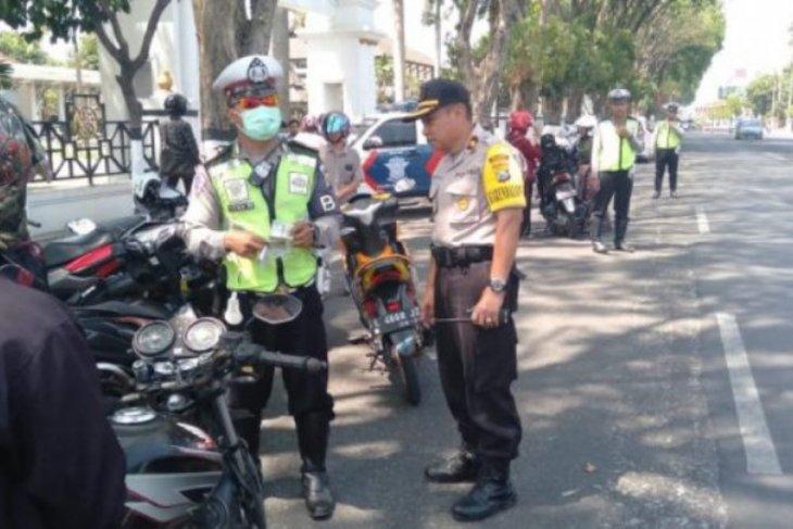 1.300 pelanggaran ditangani Polres Madiun Kota selama sepekan OPS