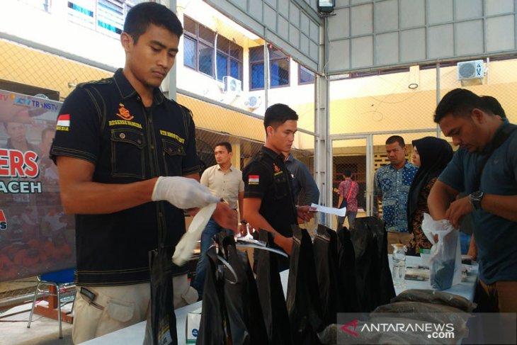 Polresta Banda Aceh gagalkan pengiriman ganja ke  Jawa Barat