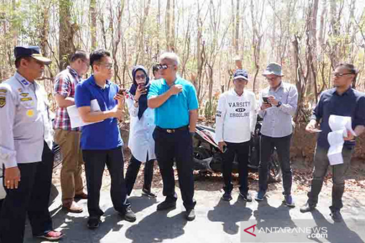 Tim Kemenhub tinjau calon lahan Bandara Bali Utara -Buleleng