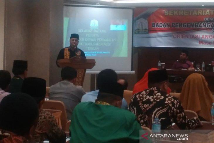 Bupati Shabela ajak DPRK bersinergi bangun Aceh Tengah