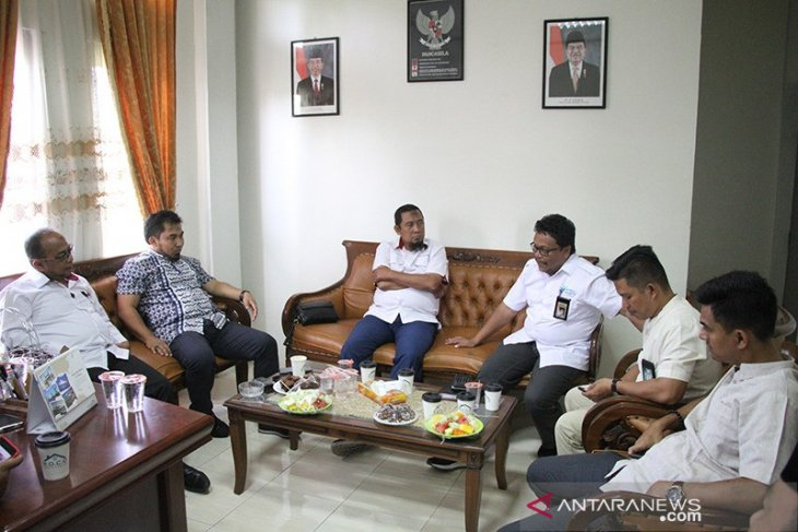 Karo Humas Pemerintah Aceh silaturrahmi ke Antara