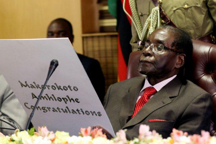 Jenazah Mugabe diterbangkan dari Singapura ke Zimbabwe