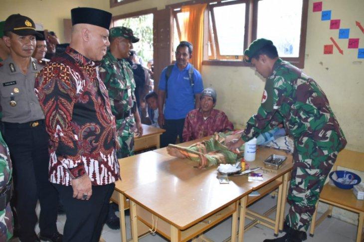 TNI Manunggal KB Kesehatan digelar di  Jagong Jeget