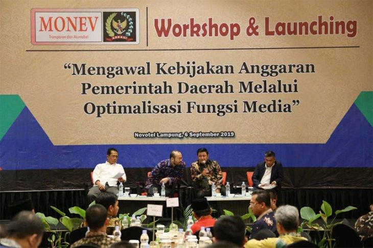 Lampung Kawal Kebijakan Anggaran Pemerintah Daerah Melalui Optimalisasi Fungsi Media