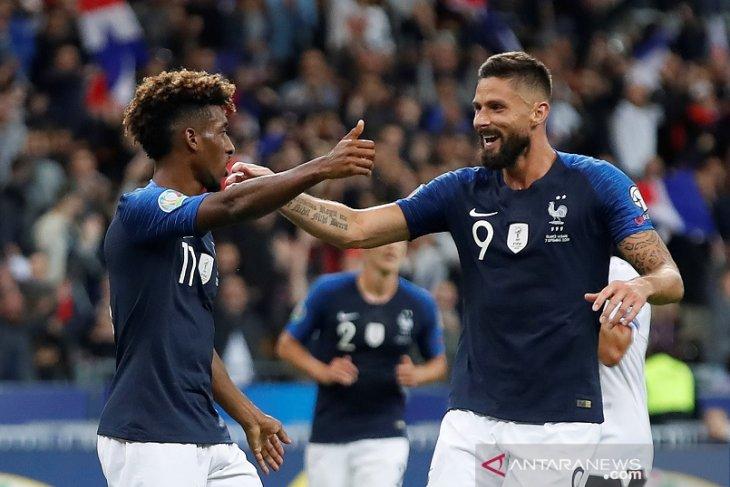Prancis tundukkan Albania di kualifikasi Piala Eropa