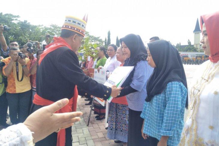BPJS ketenagakerjaan Cabang Maluku serahkan santunan Rp1403 juta
