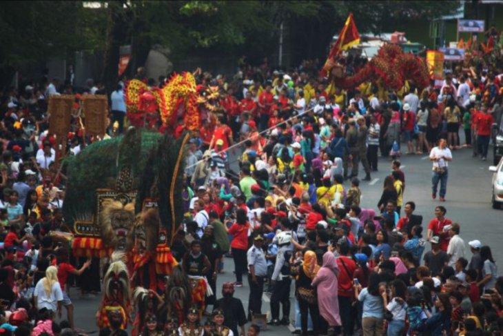 Kirab budaya dan keaenian di Tangerang