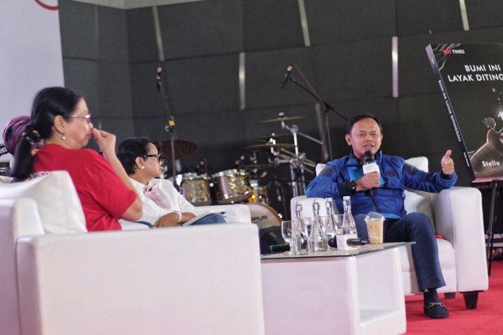 Bima Arya bahas soal literasi digital di Indonesia Writers Festival 2019