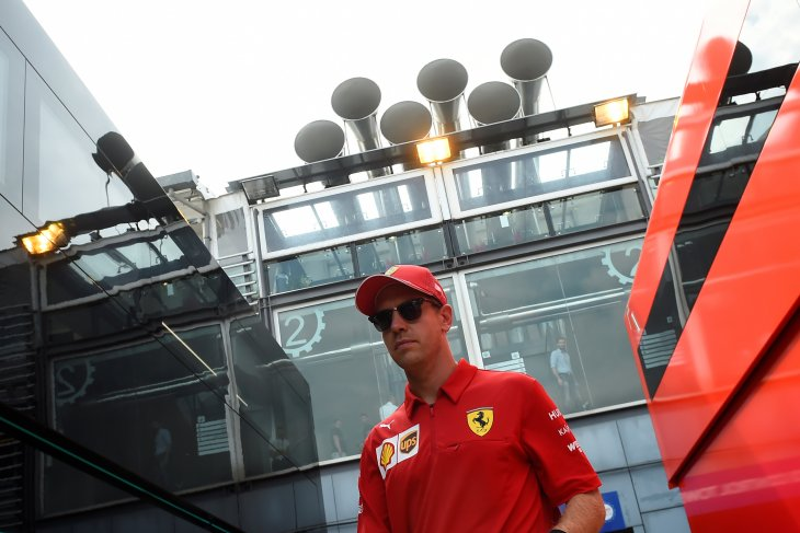 Penalti Vettel lebih berat ketimbang Stroll