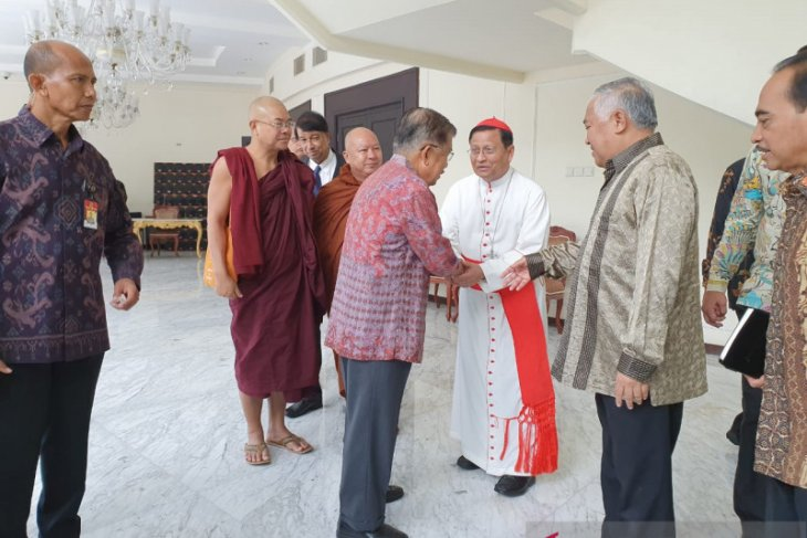 Vice President welcomes Myanmar's inter-religious figures