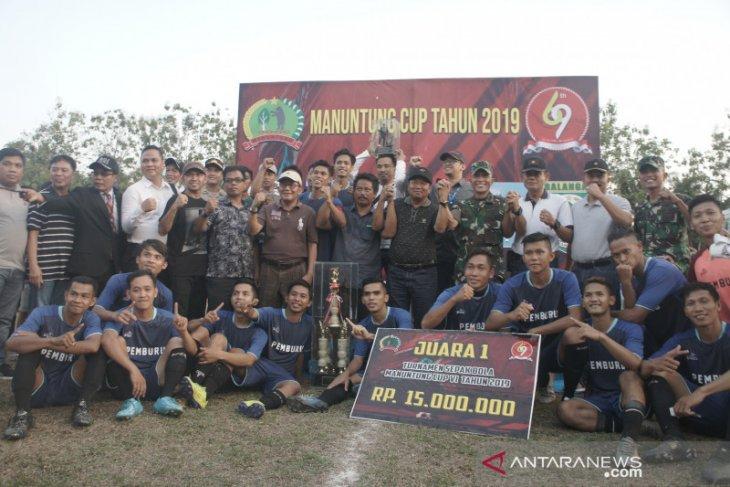 Anduhum juara, Sekda ingin kompetisi Manuntung Cup digelar tiap tahun