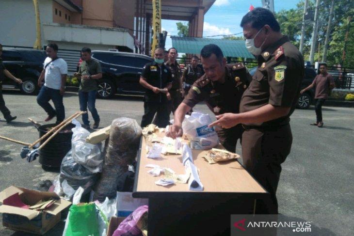 Kejari Padangsidimpuan musnahkan barang bukti narkoba