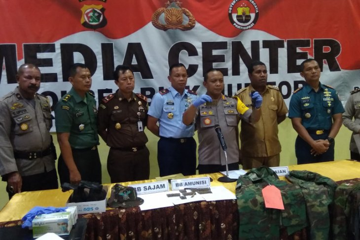 Polisi tangkap pelaku pembawa 64 butir amunisi