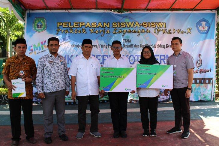 BPJSTK Ternate beri perlidungan siswa magang