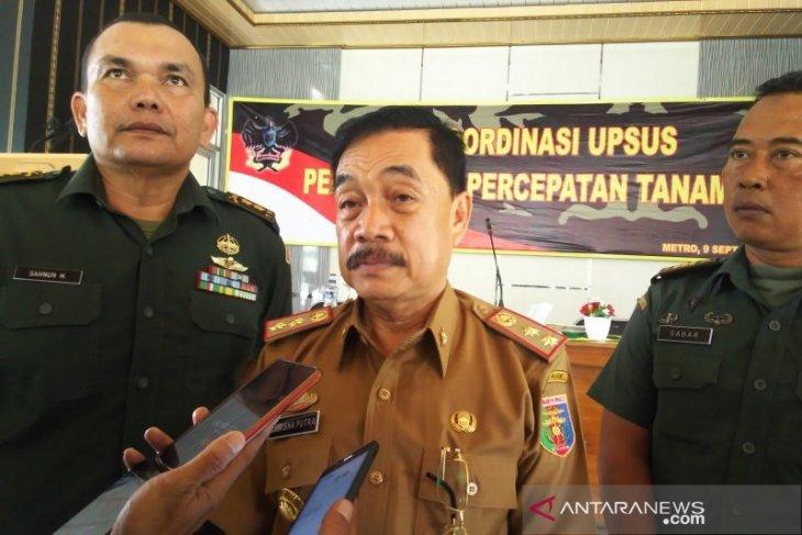 Lampung percepat masa tanam genjot produksi padi