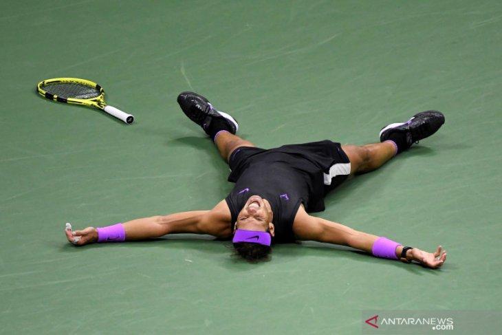Nadal tambah jarak dari Djokovic