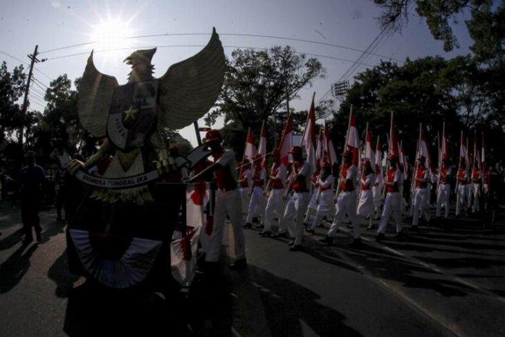 Karnaval kebangsaan memperingati Hari Olahraga Nasional