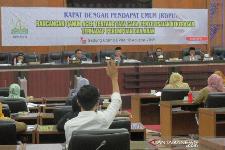Banleg:  12 raqan tuntas sebelum akhir tugas DPRA 2014-2019