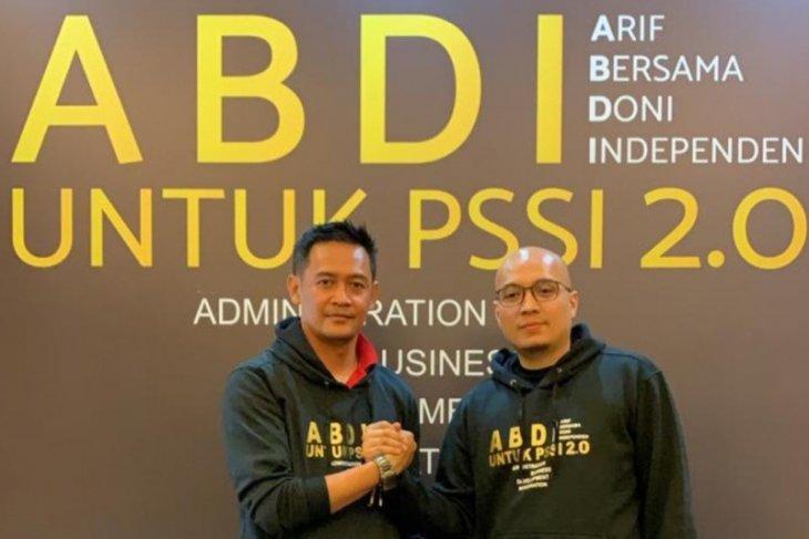 Dua CEO calon Ketum-Waketum PSSI