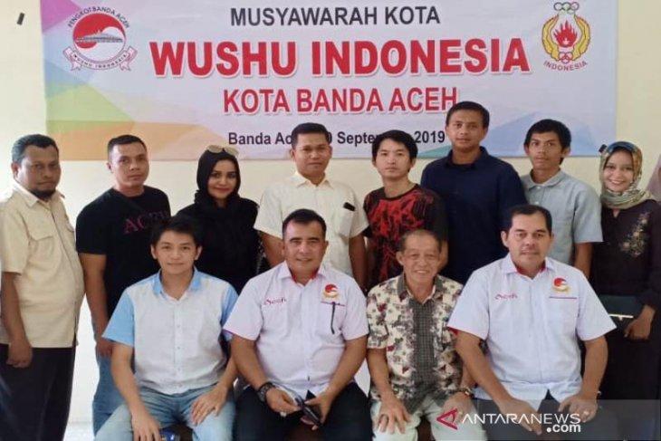Yuswar Pimpin Wushu Kota Banda Aceh
