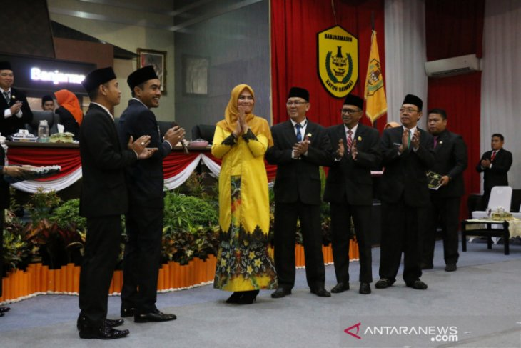 Lapsus- Harry-Yamin pimpinan sementara DPRD Kota Banjarmasin
