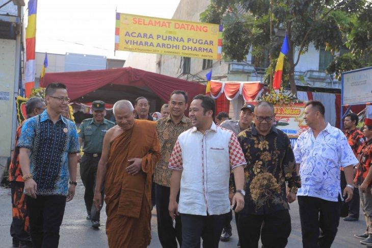 Wali Kota Tangerang: Kedamaian unsur penting kelancaran pembangunan