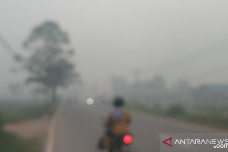 BMKG tidak temukan titik panas, Kota Pontianak diselimuti asap kiriman