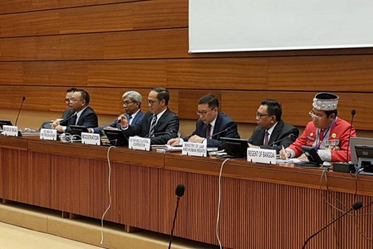 Muhammad Idaham bicara Smart City di forum PBB