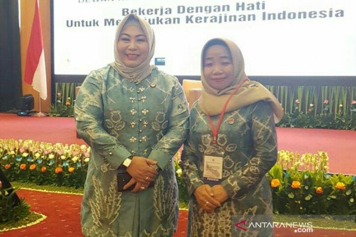 Ketua dekranasda HSU hadiri rakernas di Jakarta