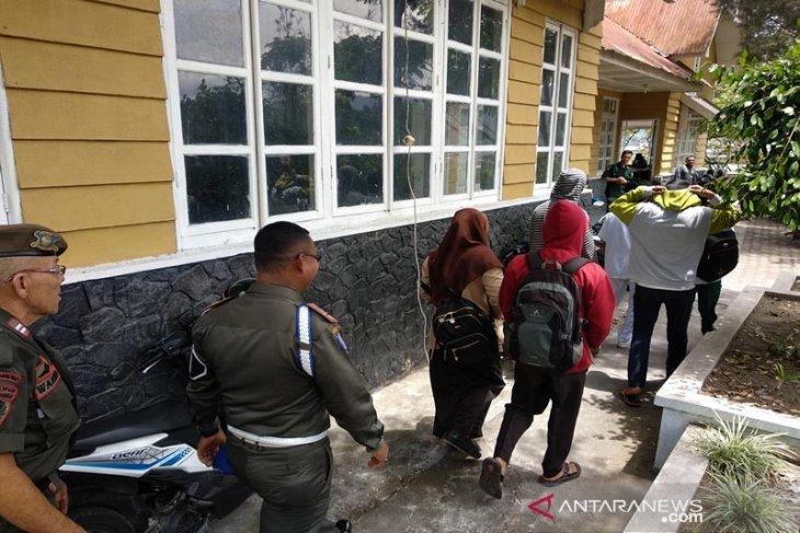 30 pelajar bolos terjaring razia penertiban Satpol PP di Takengon