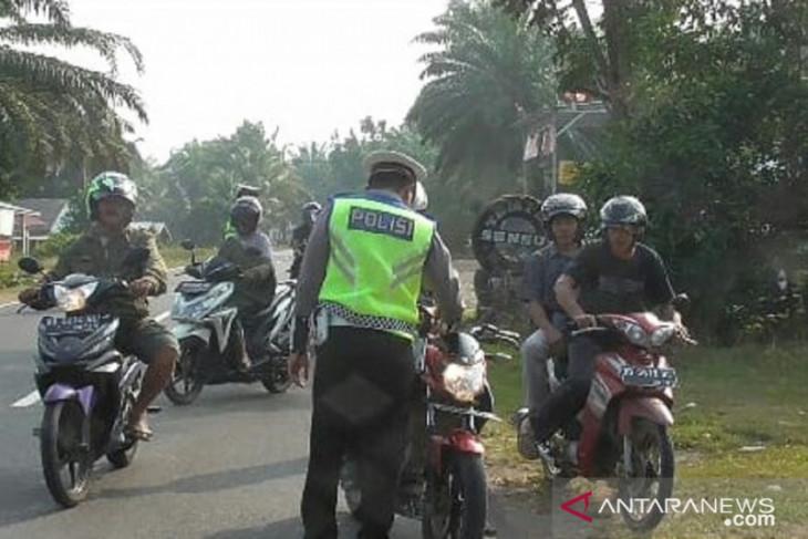 Pelanggar lalu lintas di Mukomuko didominasi pengendara bawah umur