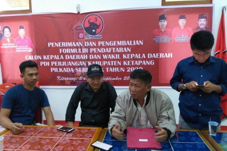 Yudo Sudarto ambil formulir pendaftaran Calon Bupati dan Wakil Bupati 2020