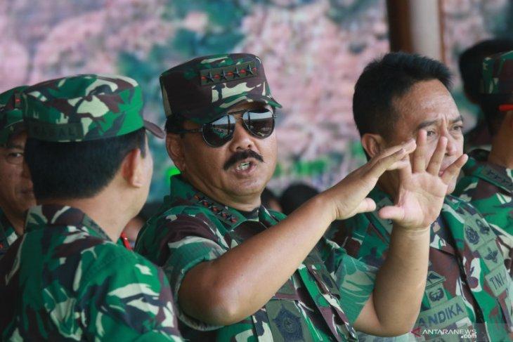 Panglima TNI yakinkan penggunaan drone bermanfaat pantau titik api