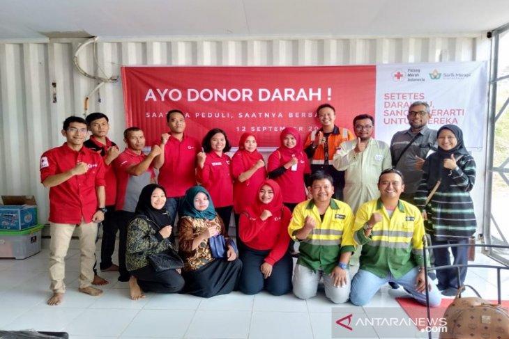 Peringati hari pertambang dan energi, SMGP dan PMI gelar donor darah