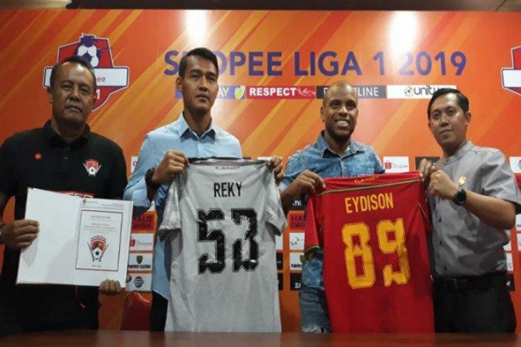 Eydison Teofilo Soares dan Reky Rahayu diboyong Kalteng Putra