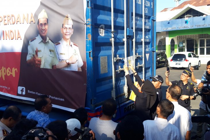 Kementan lepas ekspor selaput biji pala Malut ke India