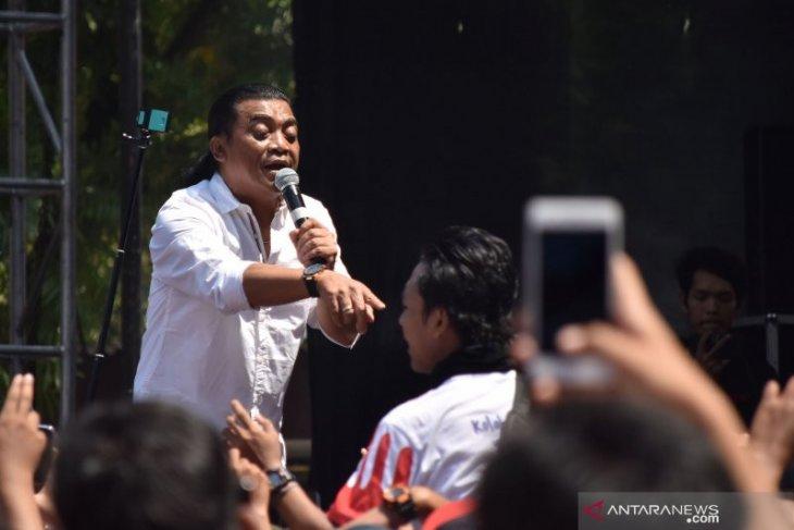 Didi Kempot tampil hari pertama Jazz Traffic di Surabaya