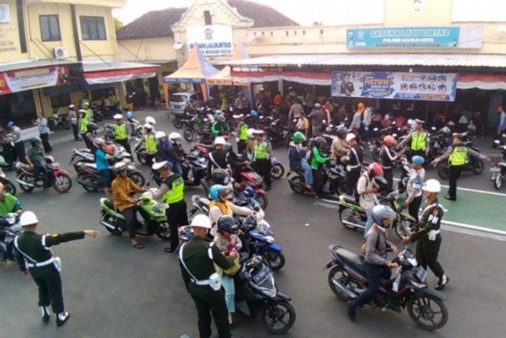 Polres Ngawi tangani 3.977 kasus pelanggaran selama OPS 2019