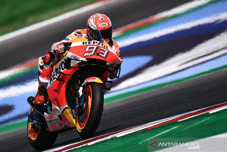 Hasil kualifikasi GP Aragon, Marquez pole position