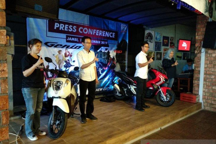 Sinsen Jambi luncurkan skutik Honda Genio dan ADV150