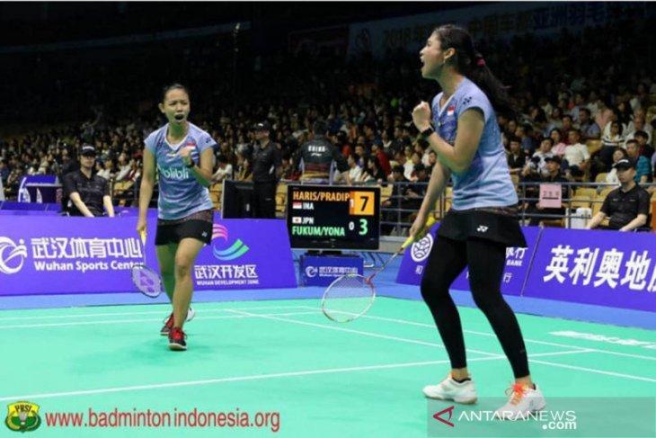Della/Rizki tantang Huang Zhang di final Vietnam Open