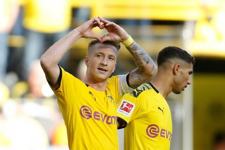 4-0 Dortmund cukur Leverkusen, Reus sumbang dua gol