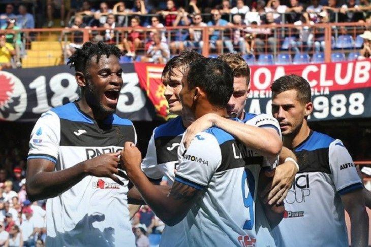 Gol larut Zapata Bawa kemenangan Atalanta atas Genoa